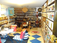 A Room decorated with Bavarian and UMMC collectibles